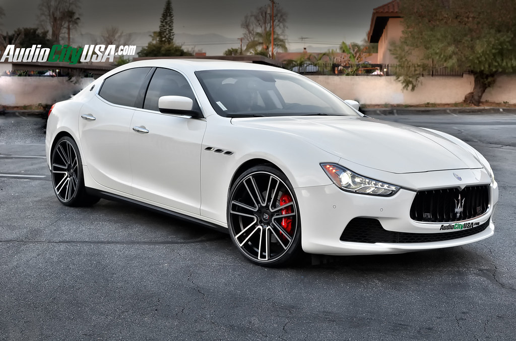 2015 Maserati Ghibli Q4 On 22 Quot Koko Kuture Massa 7 Black M