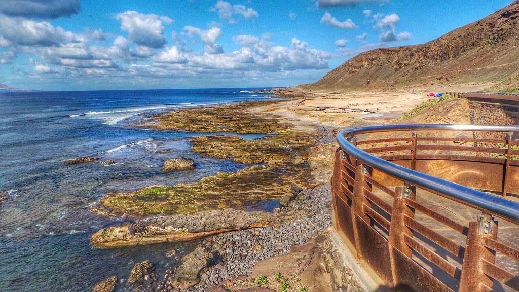 La playa del confital en las palmas de gran canaria flickr for Cristalerias en las palmas de gran canaria