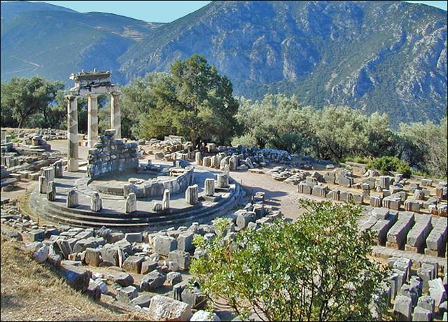 La Tholos (Delphes, Grèce)
