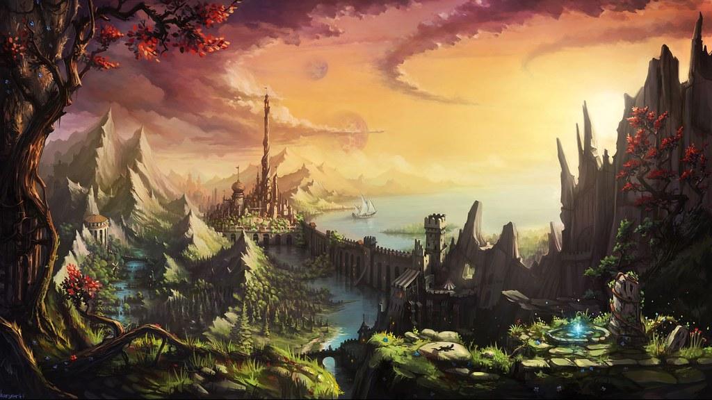 Fantasy Castle Wallpapers 4K Resolution