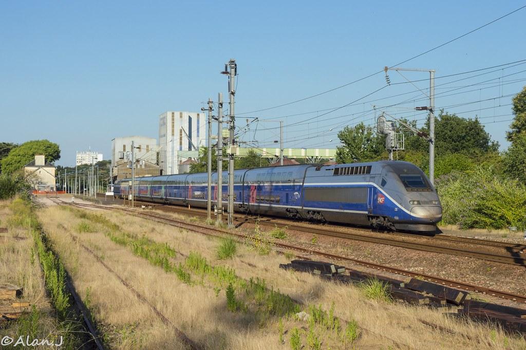 Nantes Quimper tgv duplex 735 - train 720947 nantes>quimper | alan jfr | flickr