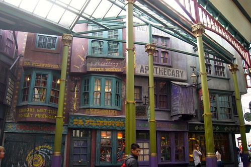 The Wizarding World of Harry Potter - buildings
