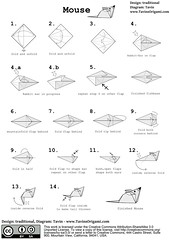 origami mouse diagram diagrams for a paper mouse pdf and flickr rh flickr com easy origami mouse diagram Origami Folding Diagrams