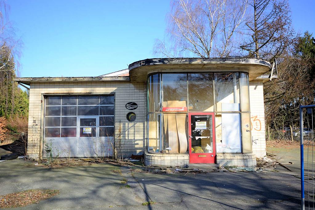 0021 Stillgelegte Alte Tankstelle Langenhorner Chaussee