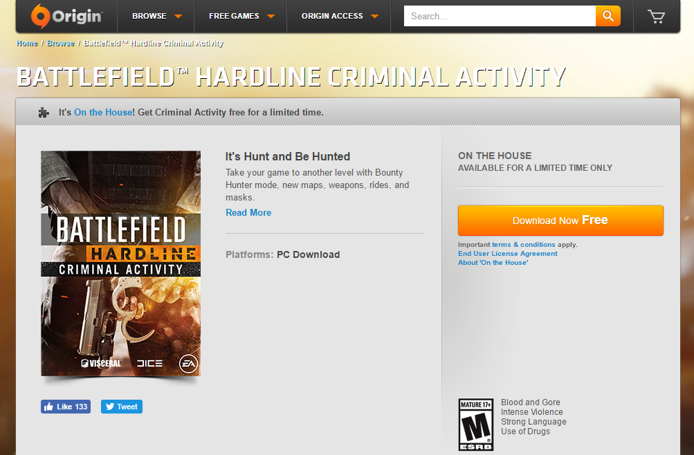 Battlefield Criminal Activity