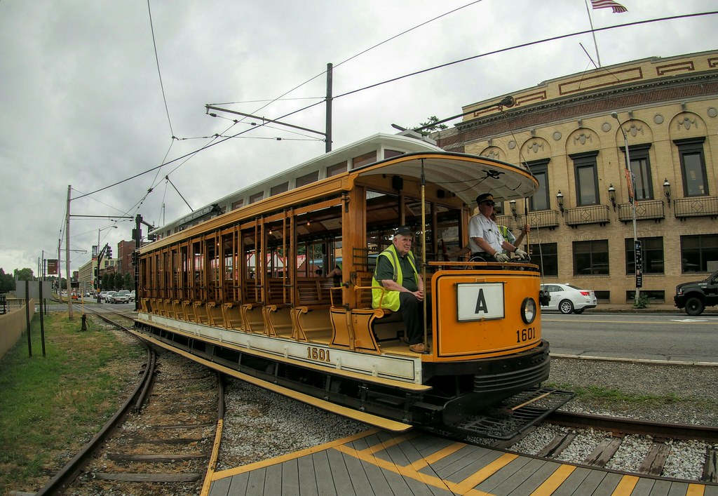 1601, Lowell | Replica trolley car built in 1984 to ...