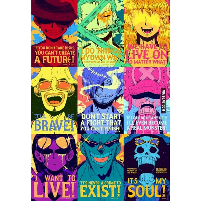 Anime Onepiece Colorful Wallpaper Luffy Zoro Sanji Flickr