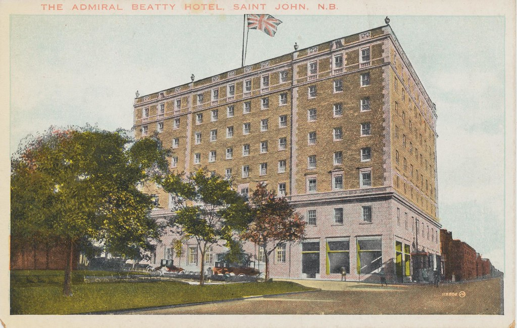 The Admiral Beatty Hotel - Saint John, New Brunswick