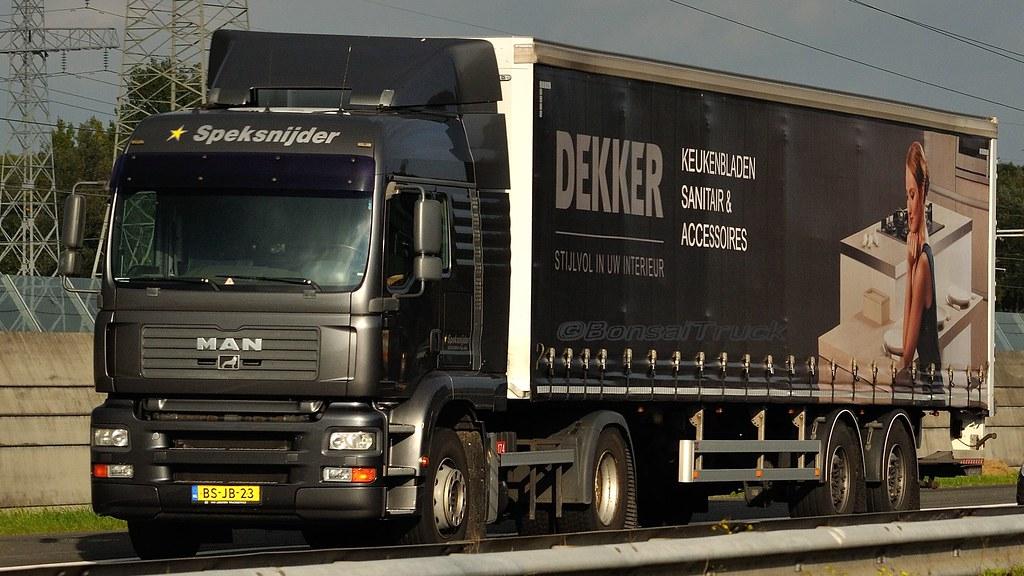 NL - Speksnijder >Dekker< MAN TGA LX | BonsaiTruck | Flickr