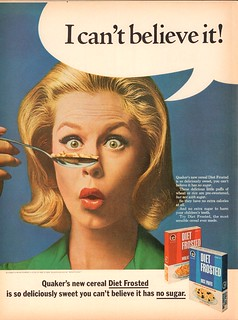 1965 Quaker Diet Frosted Advertisement with Elizabeth Montgomery Life Magazine January 8 1965 | by SenseiAlan