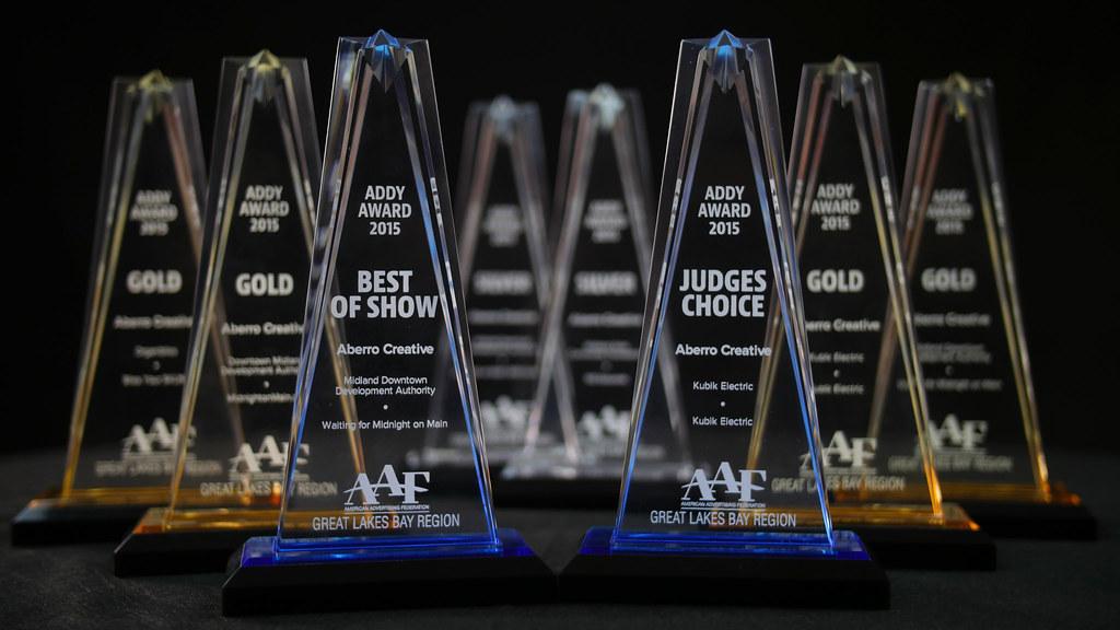 Addy Awards Trophy