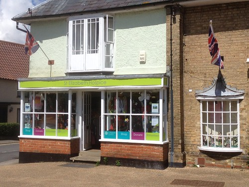 St Elizabeth Hospice charity shop in Wickham Market