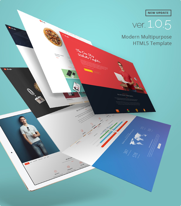 Pasific modern multipurpose html5 template new update v105