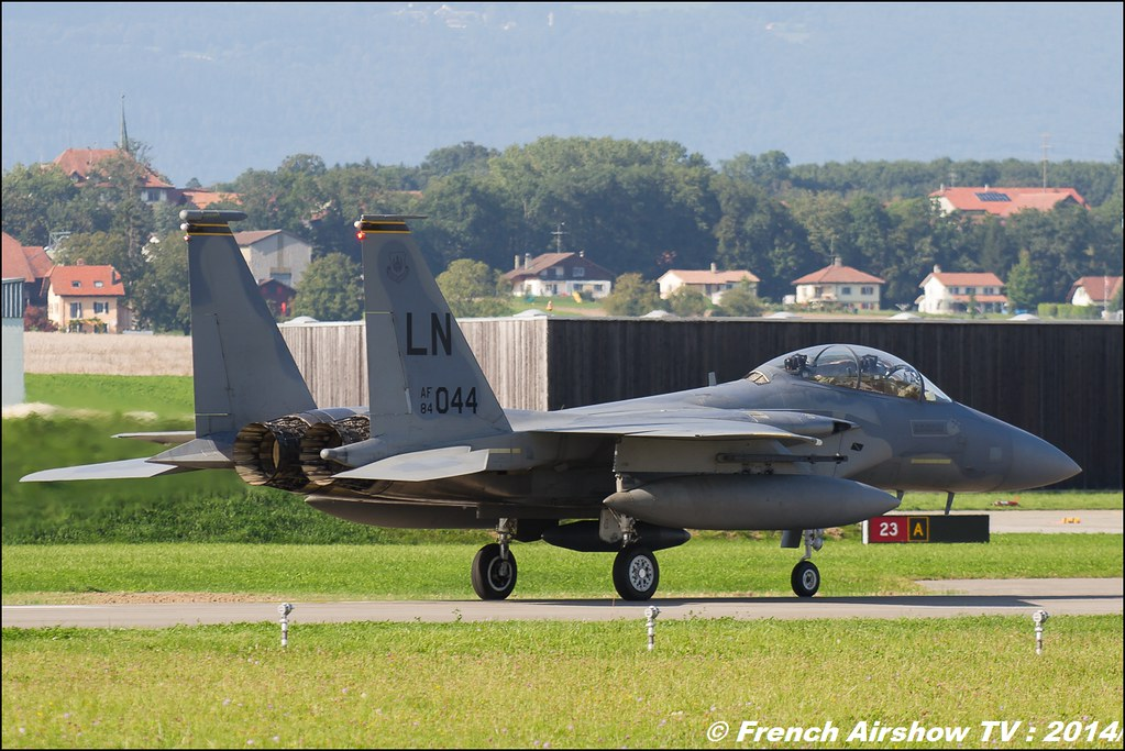 F-15 Eagle AIR14 Payerne 2014 Canon Sigma France contemporary lens