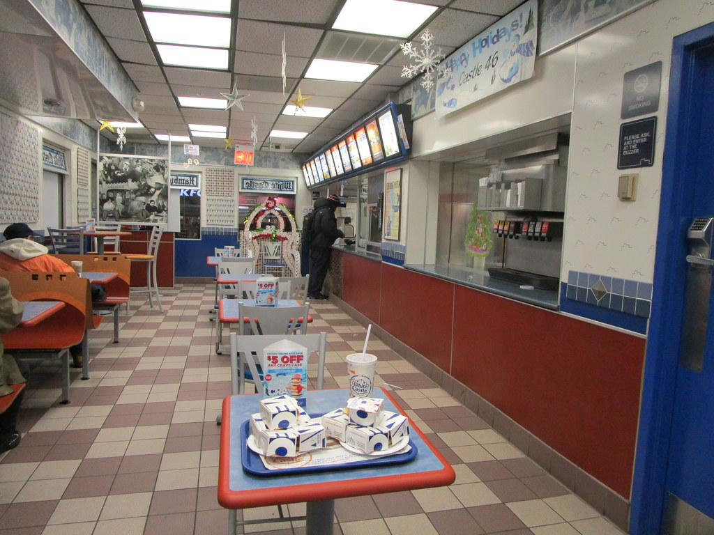 interior of white castle on hillside avenue, jamaica, quee… | flickr
