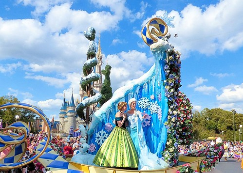 Princess Garden, Festival of Fantasy Parade
