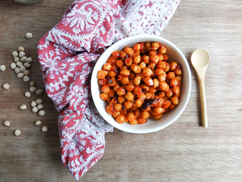 Sweet + Spicy Chickpeas // SMBP | by heatherpoire