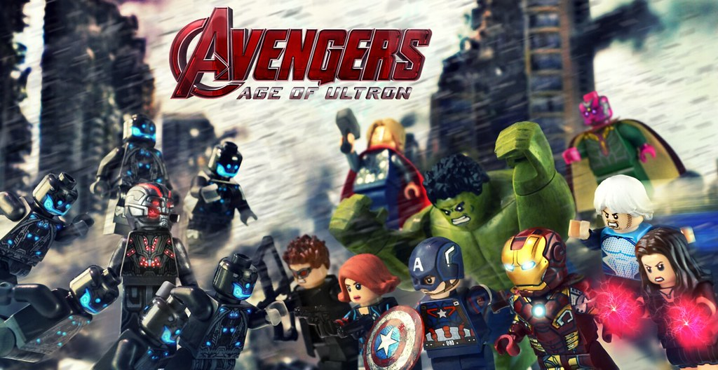 Avengers Age Of Ultron Upgraded Minifigures Preview