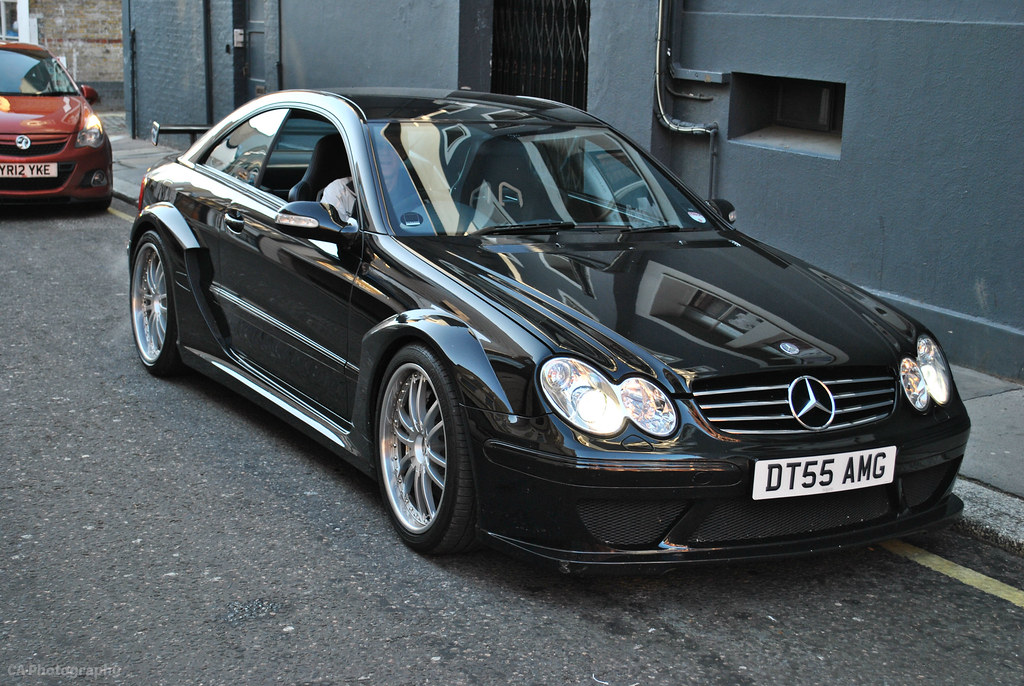 Mercedes Benz Clk Dtm Amg Coupe This Is One Of 100 Clk