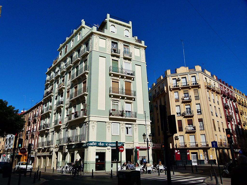 Arquitectura ecl ctica en el barrio valenciano de ruzafa for Arquitectura eclectica