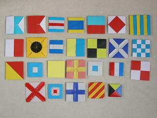 International Maritime Signal Flags | by Mélisande*