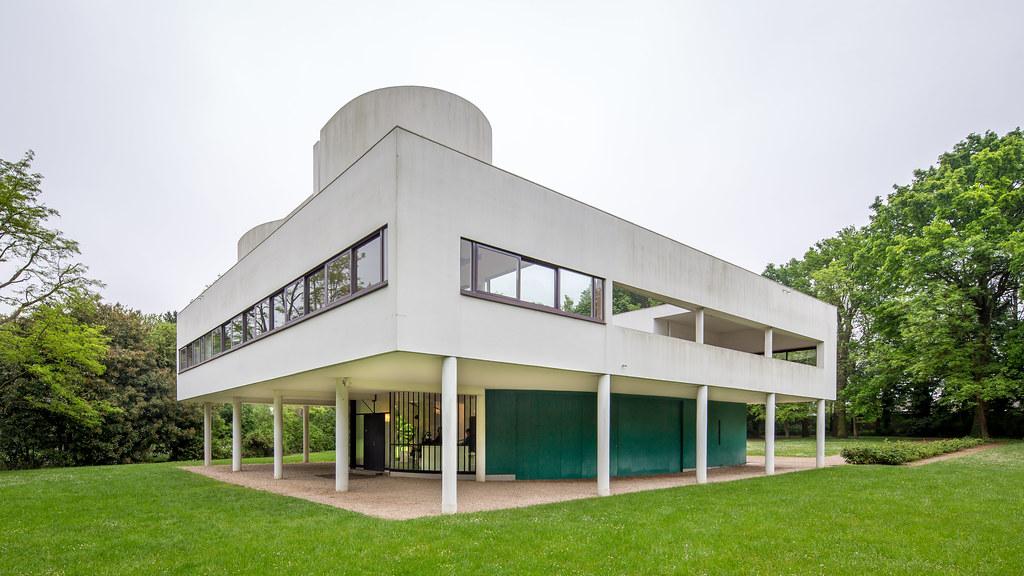 Villa Savoye, Poissy | Architect: Charles-Édouard Jeanneret … | Flickr