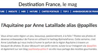 5 photos de l'Aquitaine par Anne Lataillade alias papilles