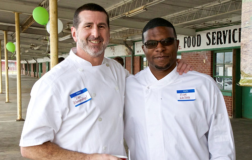 Chefs Dan Blumenthal and Nick Wallace