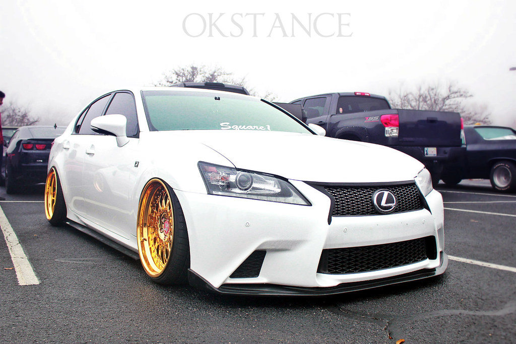 Mikes Bagged 2013 Gs350 F Sport W Gold Plated Vip Modular