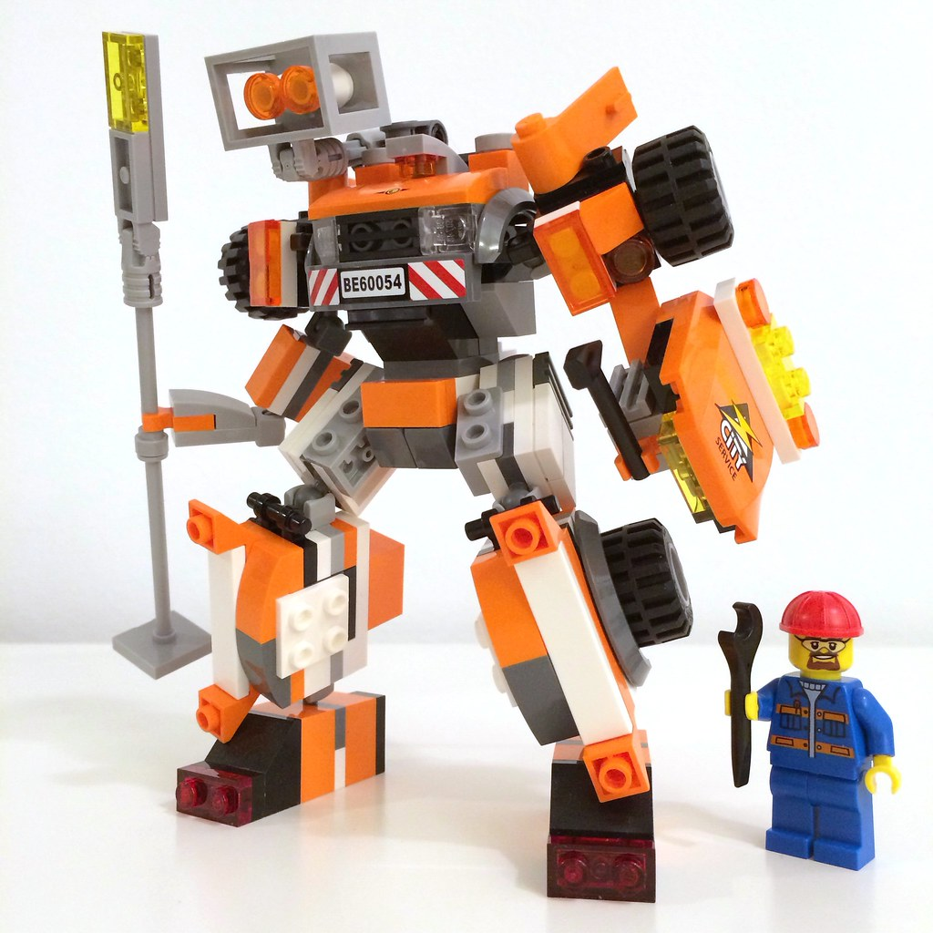 ... new autobot / based on light repair truck #60054 | by ohmgeez