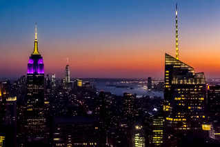 Manhattan from the Rockefeller Centre | by andryn2006