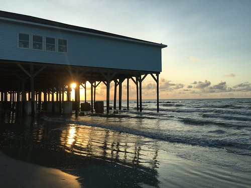 July 23rd - great way to begin and end a day in Galveston | by FitTRIRun