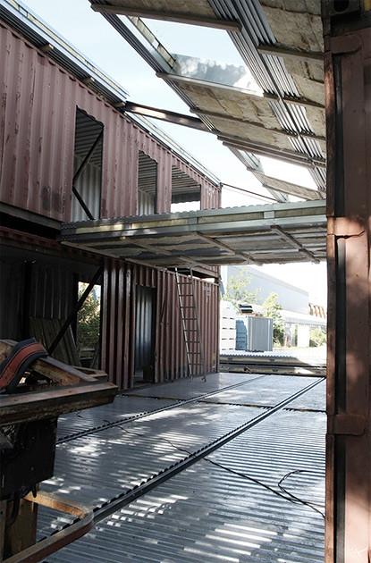 Строительство дома из контейнеров в Дании. Проект бюро Arcgensy