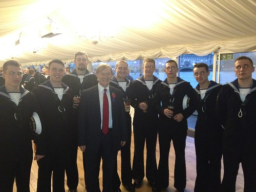 David Amess MP meets members of the Naval Service | by AmessD