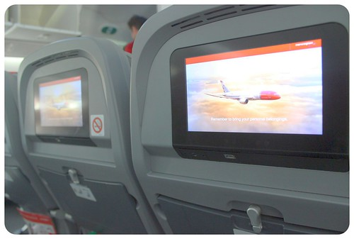 norwegian airline screen | by globetrottergirls