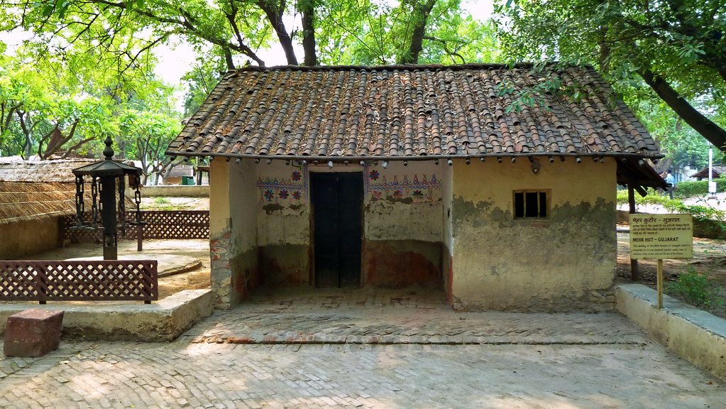 India Delhi National Crafts Museum Mehr Hut From Guj