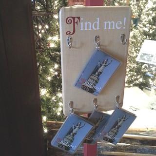 Find Me! Scavenger hunt #JingleRails #EiteljorgMuseum
