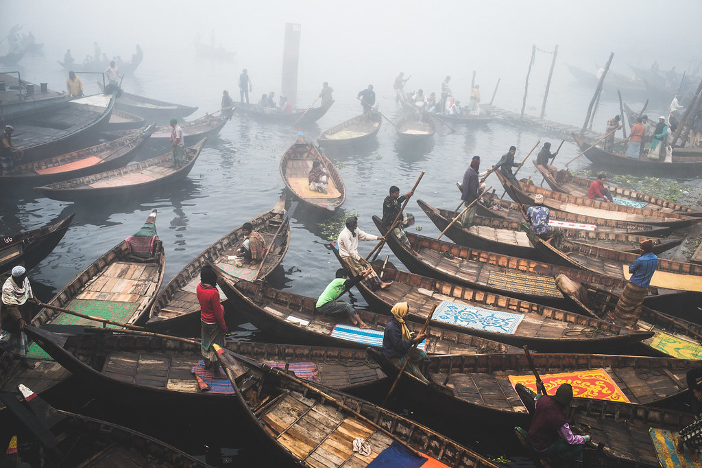 Boats of Buriganga.