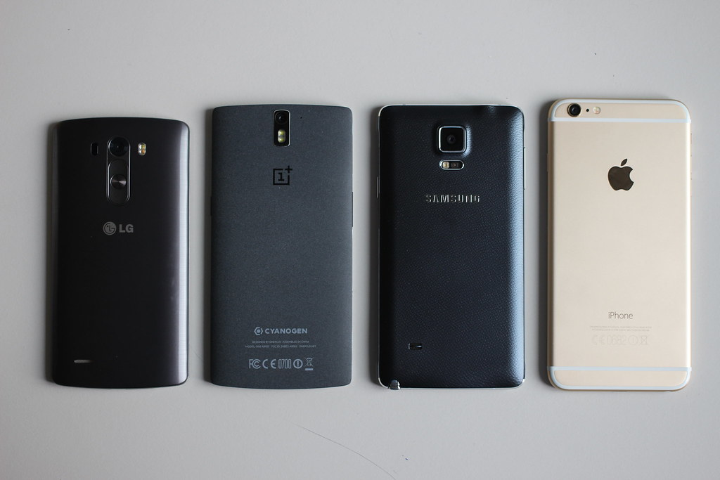 Oneplus one vs lg g3 vs apple iphone 6 plus vs samsung gal for Telefono camera dei deputati
