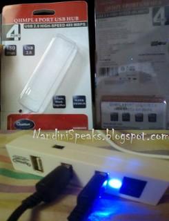 QUANTAM QHMPL 6660 USB HUB