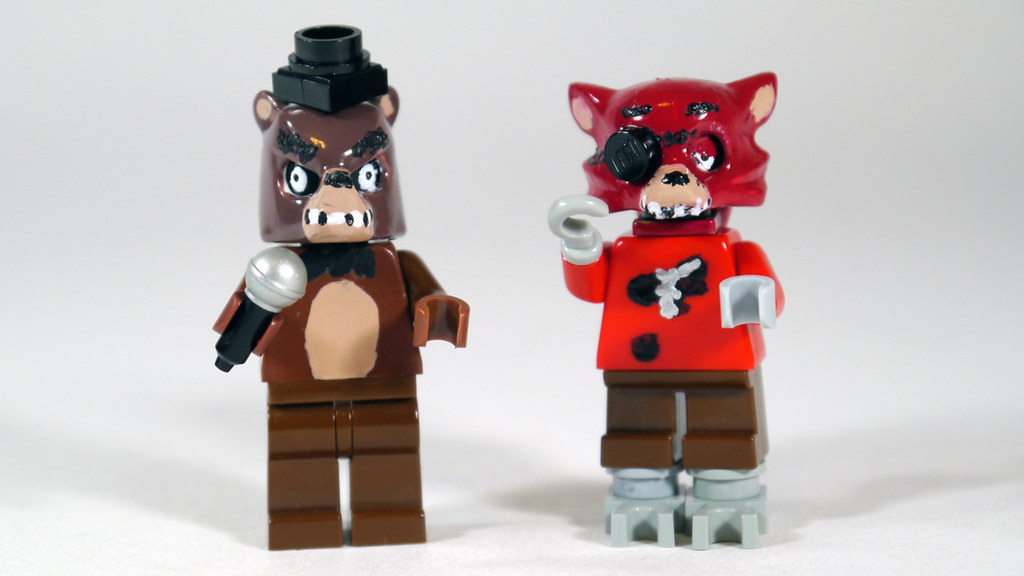 Lego foxy five nights at freddy s see how to paint him