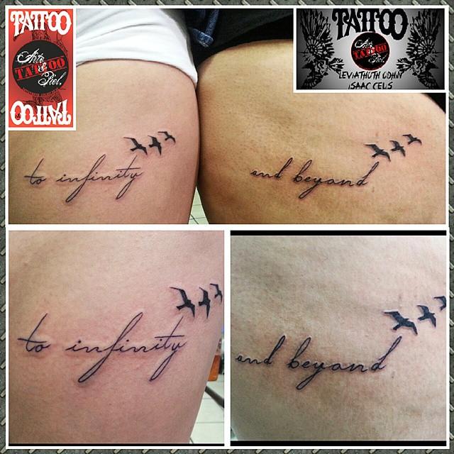 Amistad Amigas Descuentos Febrero Frase Muslo Tatto Flickr - Tatuajes-de-frases-de-amistad