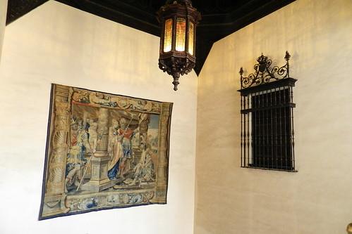 Palacio del rey pedro i escalera al cuarto real alto real for Cuarto real alcazar sevilla
