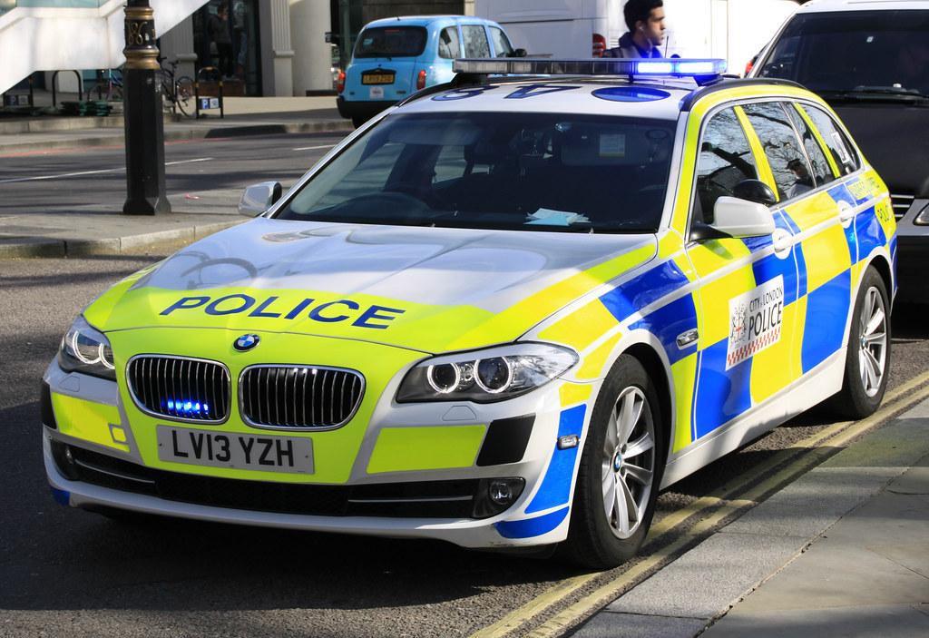 City Of London Police Bmw 530d Roads Policing Unit Anpr