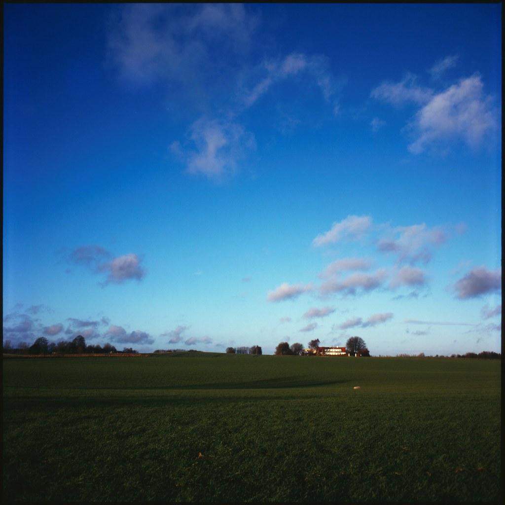 Classic Danish Landscape Farm Near Langstrup North