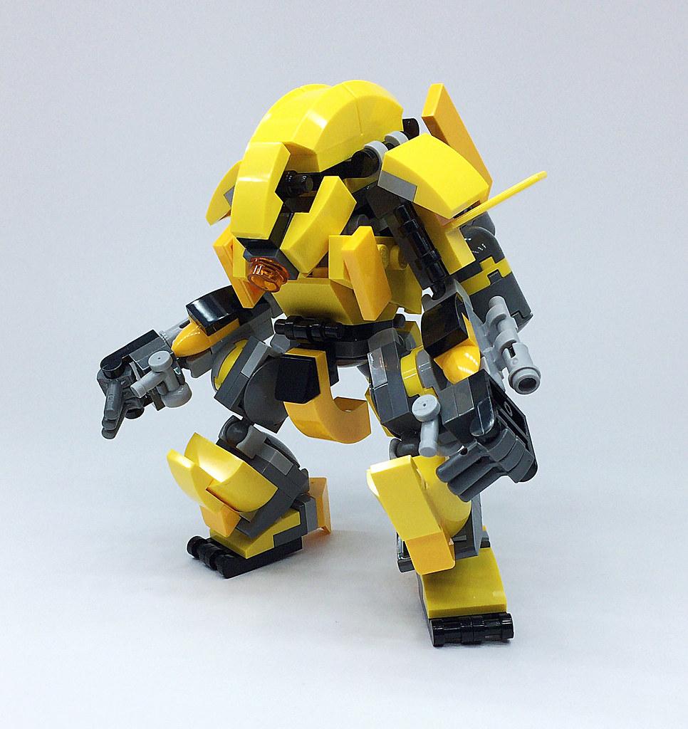 To Build A Big Robots With Legos