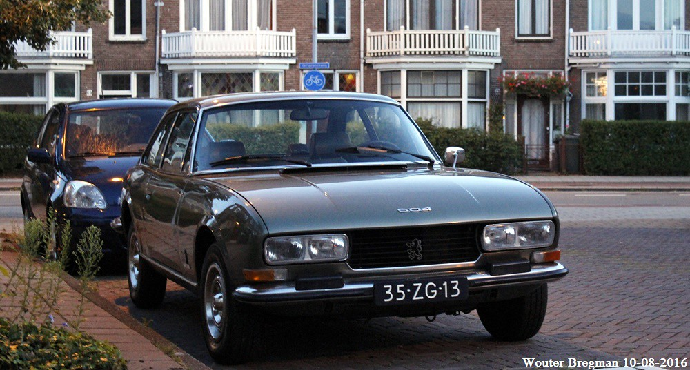 Peugeot 504 Coupe Automatic 1978 Haarlem Netherlands Flickr