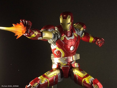 IRON MAN MARK43 by MAFEX | by toysrevil2