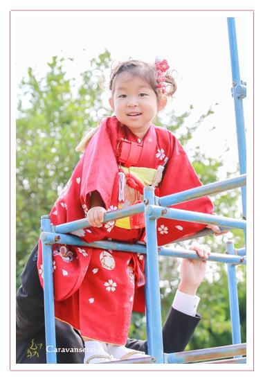 七五三写真 ロケーション撮影 愛知県瀬戸市 深川神社 おまいり 祈祷 窯垣の小径 かわいい 自然な おしゃれ 全データ