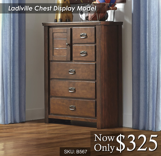 Ladiville Display Model Chest B567-45